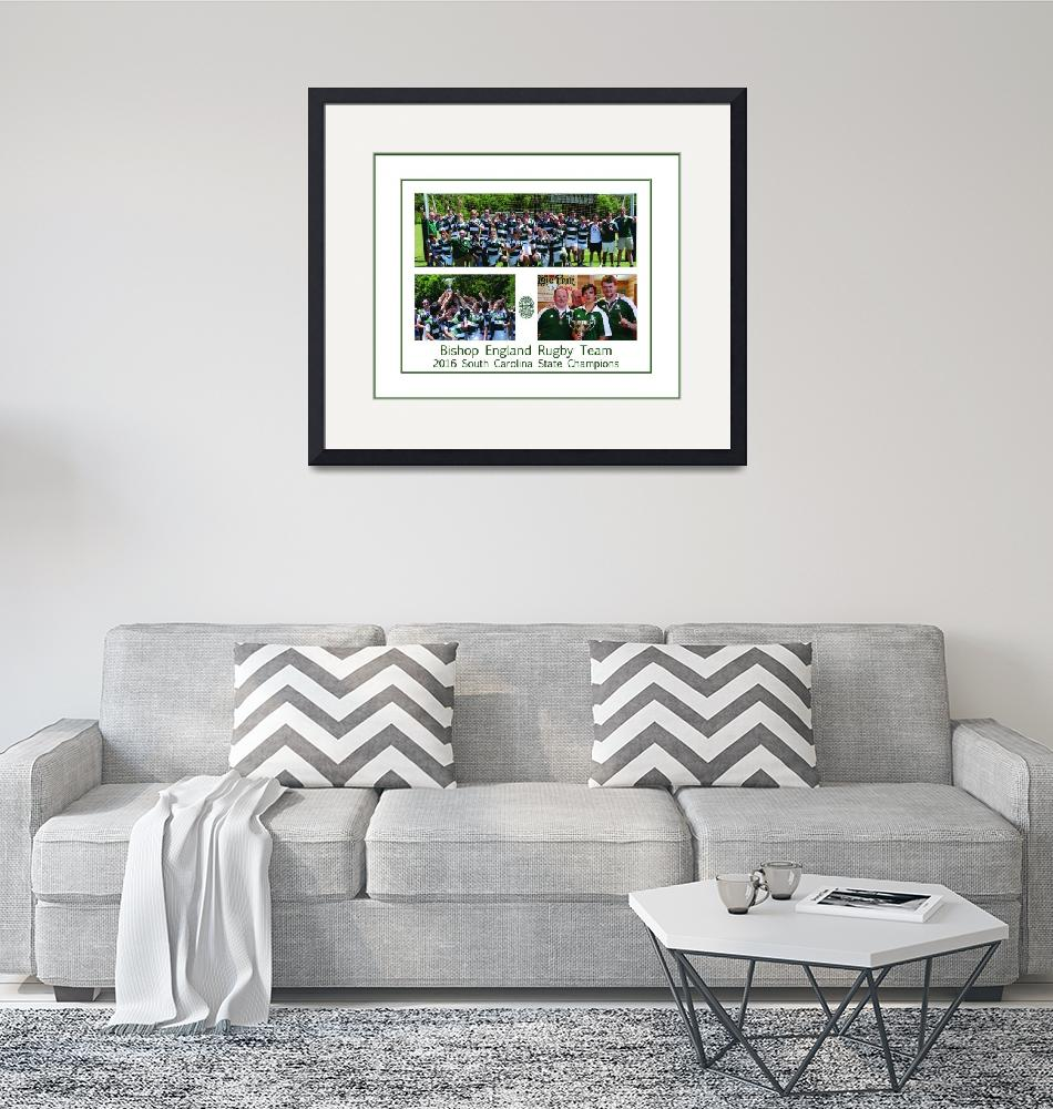 """""""BE Rugby Champs Poster""""  (2016) by FluidColor"""