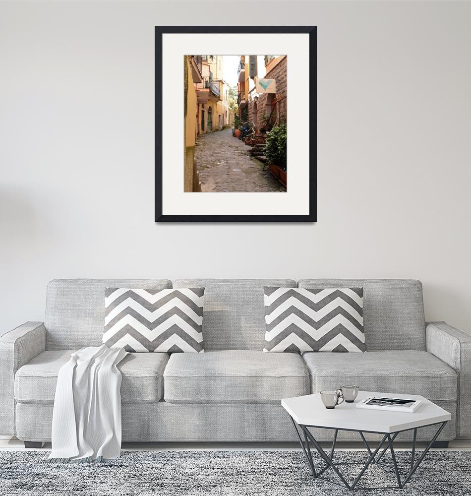 """""""Cinque Terre Street, Dee Oberle""""  by GypsyChicksPhotography"""