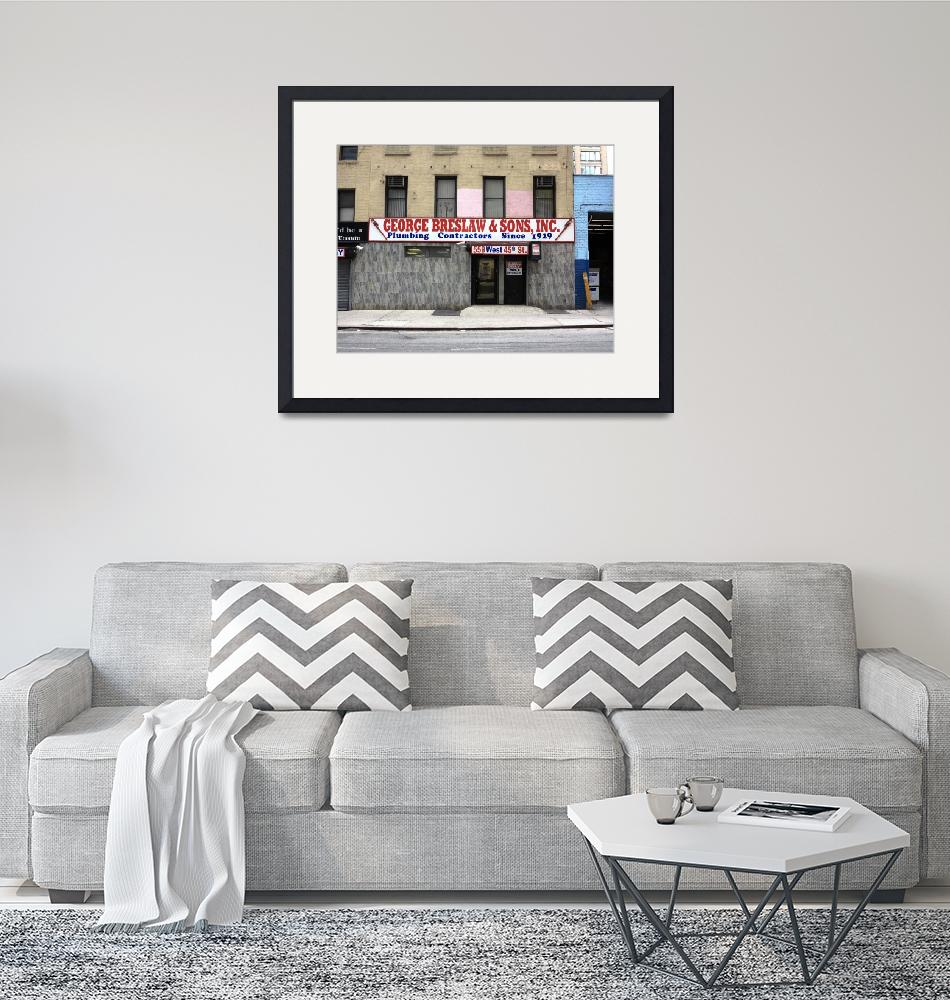 """""""New York City Storefront 4""""  (2014) by Ffooter"""
