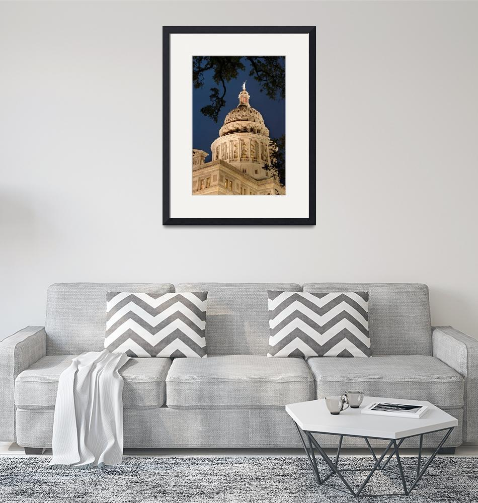 """""""Texas State Capitol Dome""""  (2013) by dawilson"""