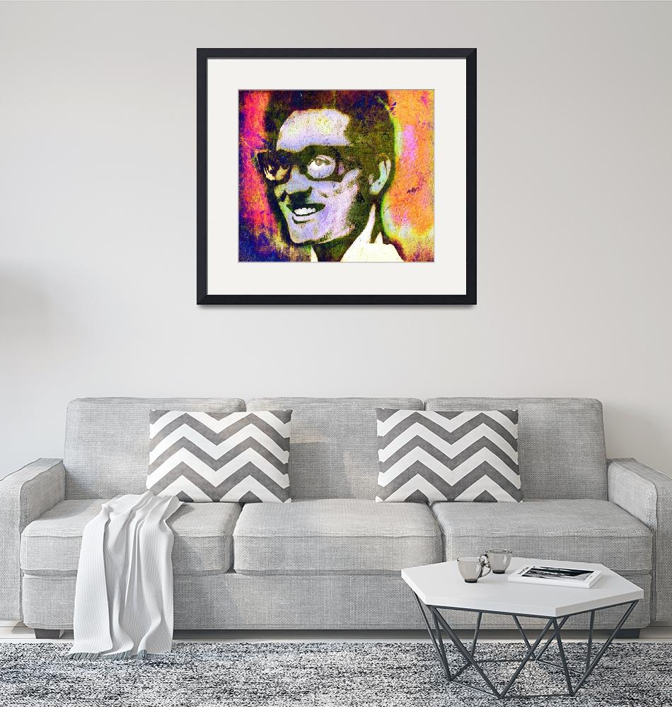 """""""BUDDY HOLLY 2""""  (2017) by thegriffinpassant"""