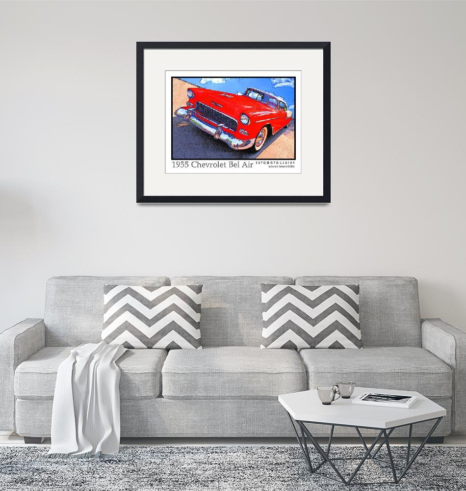 """""""1955 Chevrolet Bel Air""""  (2009) by Automotography"""