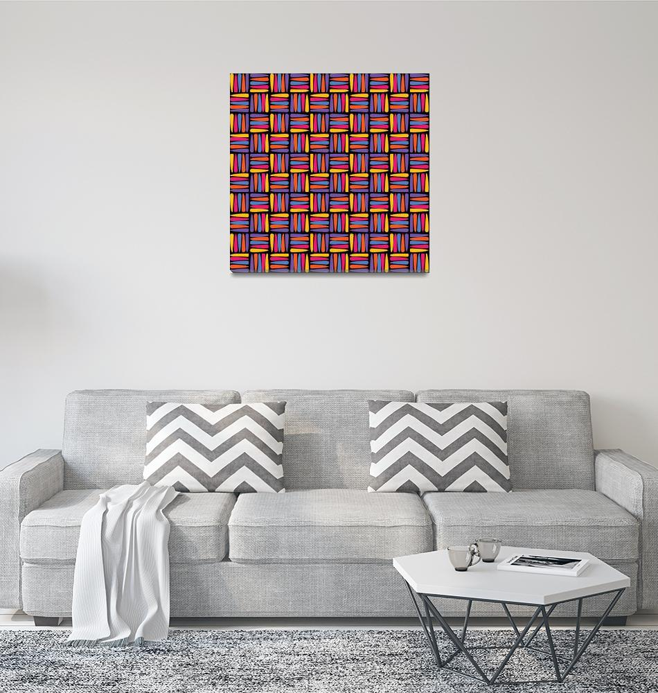 """""""Abstract Multi Color Pattern""""  (2021) by wcsmack"""