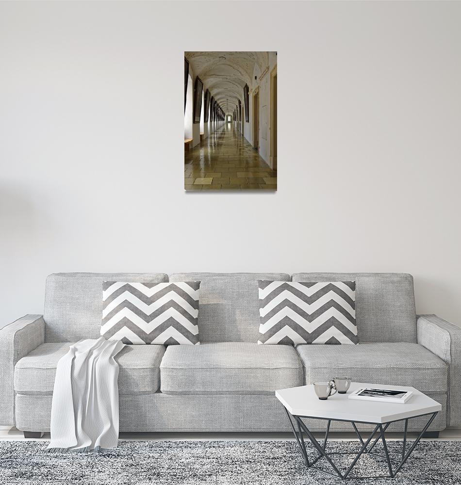 """Melk Interior 2""  (2010) by PriscillaTurner"