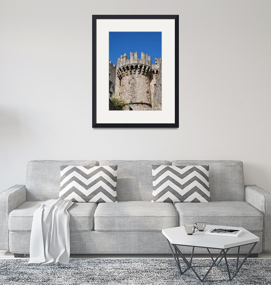"""""""Rhodes Old Town, Greece""""  (2019) by DavidFowler"""