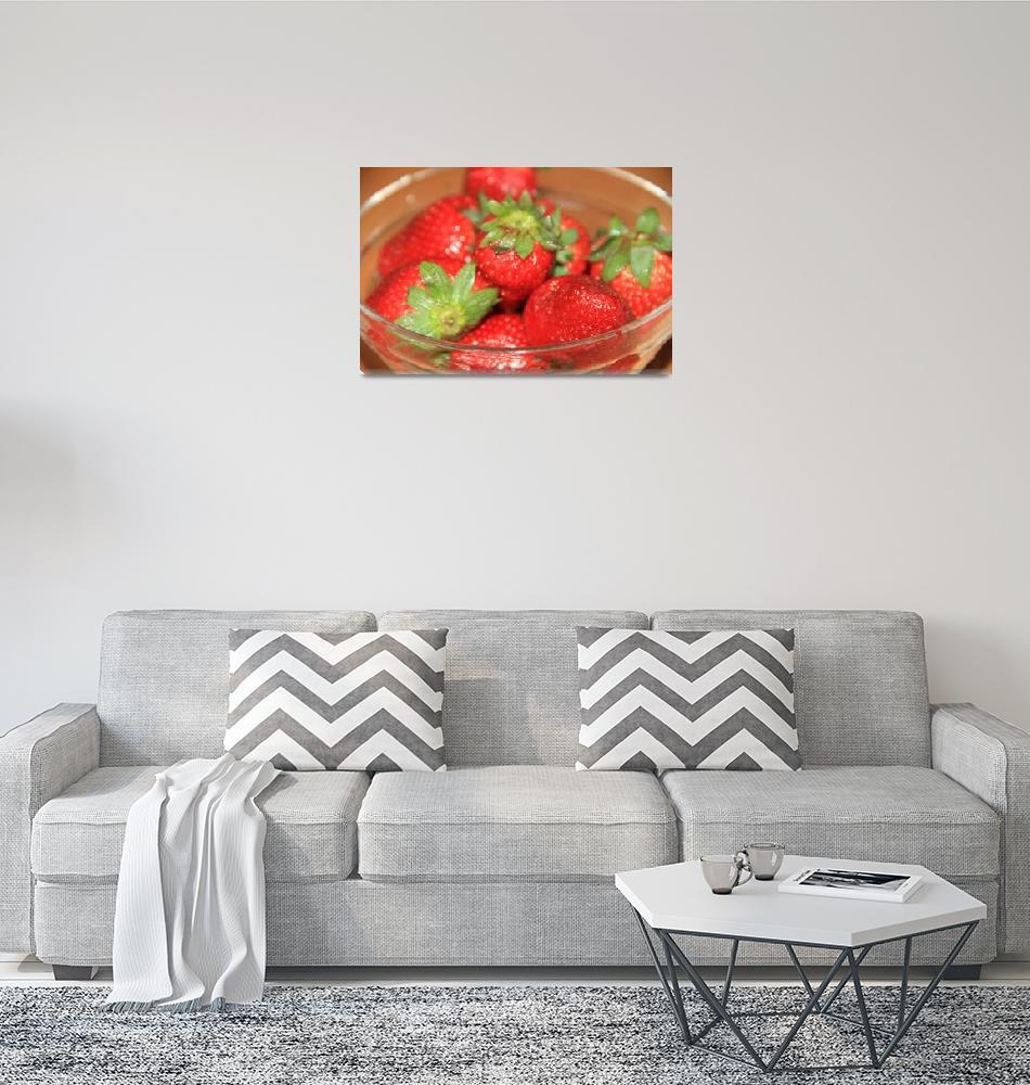 """""""Strawberries""""  (2011) by easyfigure"""