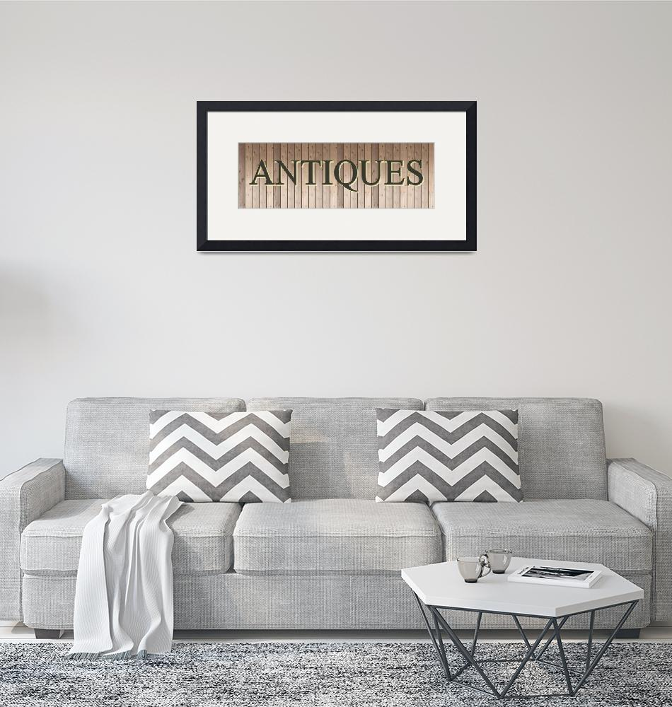 """""""ANTIQUES""""  (2016) by marymase"""