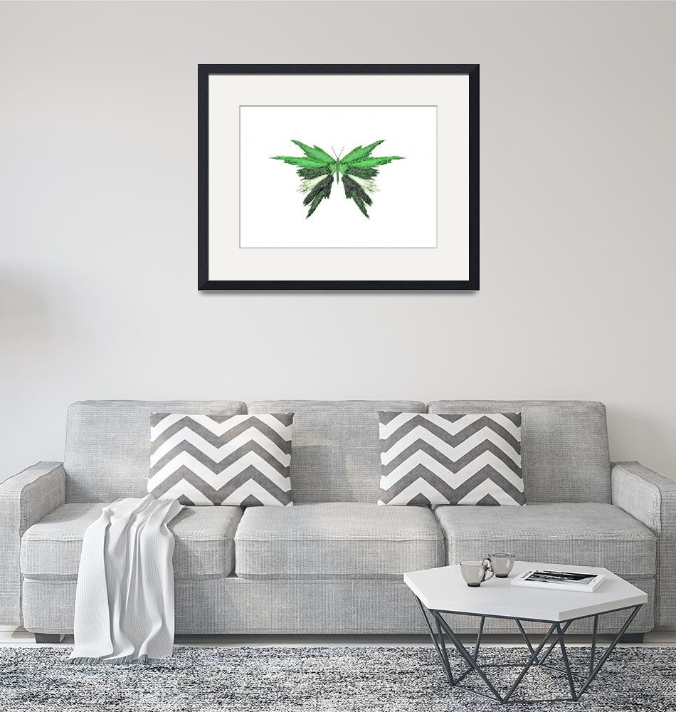 """""""Green Butterfly""""  (2013) by TheNorthernTerritory"""
