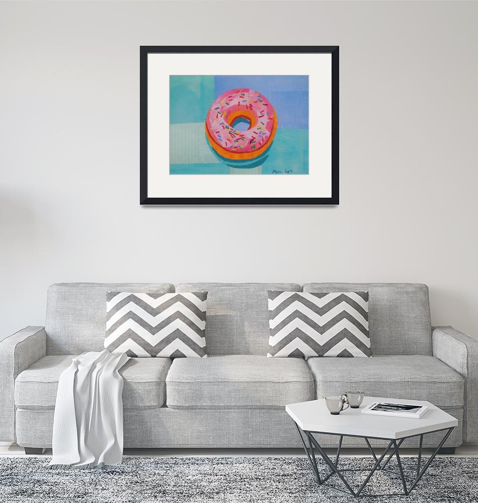 """""""Donut Worry""""  (2018) by megancoyle"""