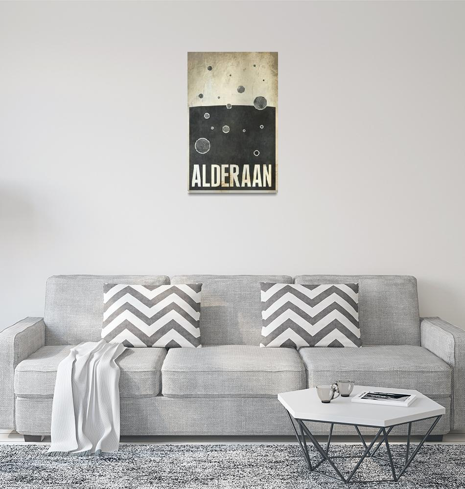 """Alderaan""  (2010) by JustinVG"
