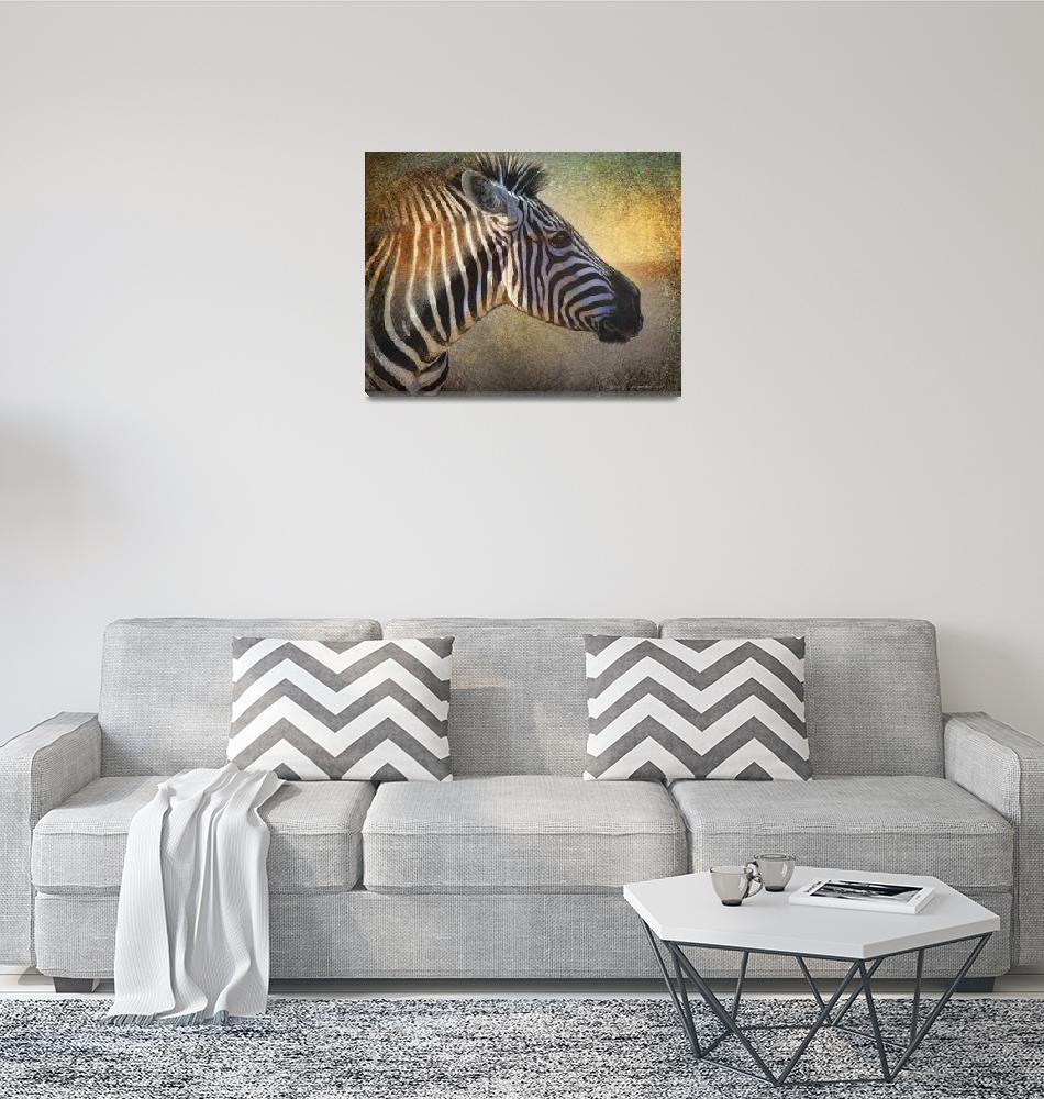 """""""zebra face study""""  (2015) by rchristophervest"""