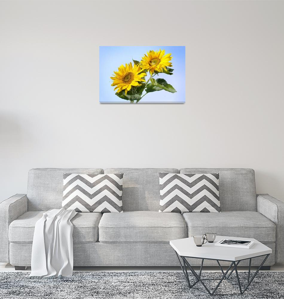 """sunflowers""  (2007) by cisfo"
