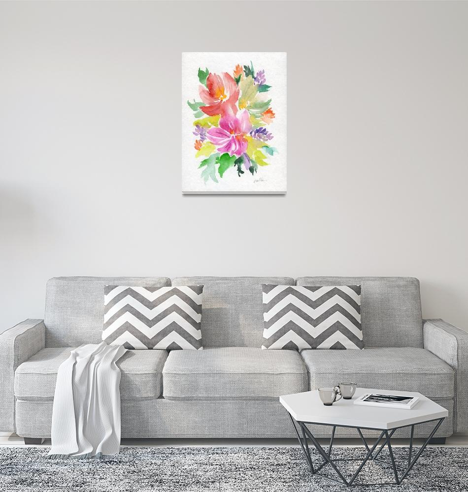 """""""Colorful Bouquet Series""""  (2019) by ColleenArt"""