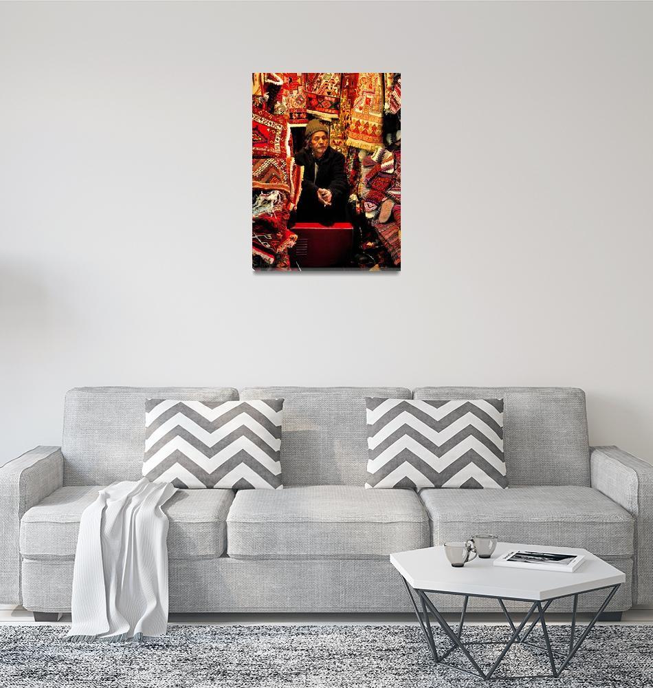 """Carpet Seller""  (2011) by DanielSin"
