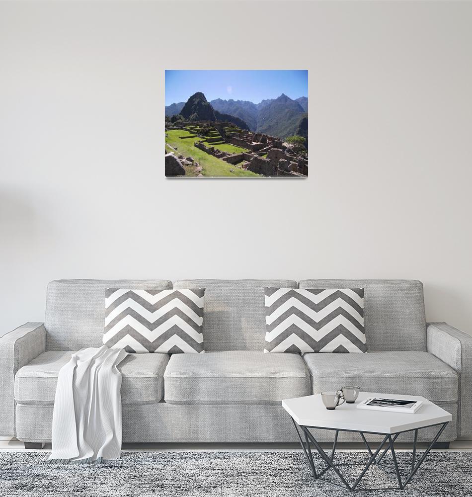 """Machu Picchu 4""  (2007) by burnsgolf"