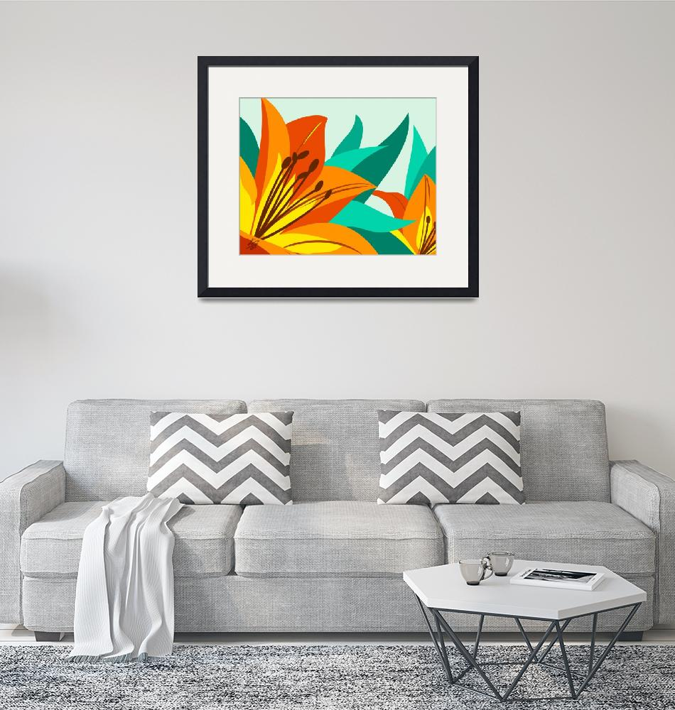 """""""Tiger Lily""""  by waterart"""