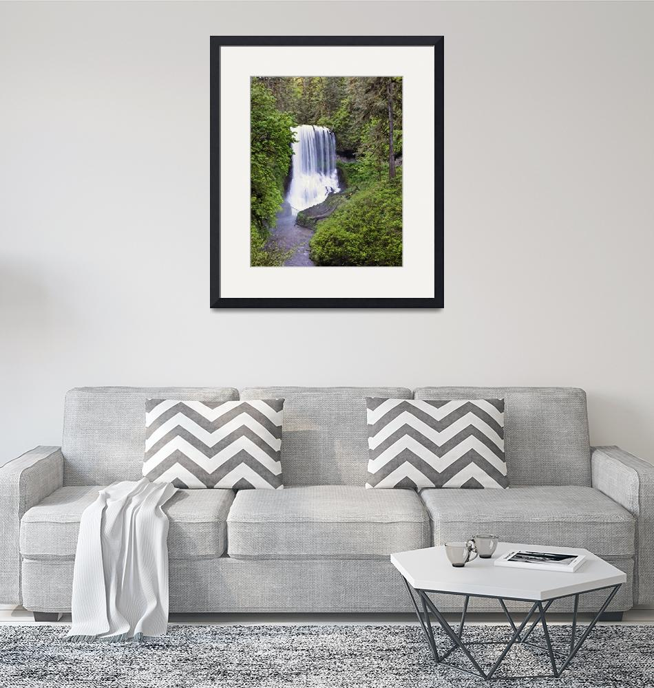 """""""Middle North Falls""""  (2007) by NWExposures"""