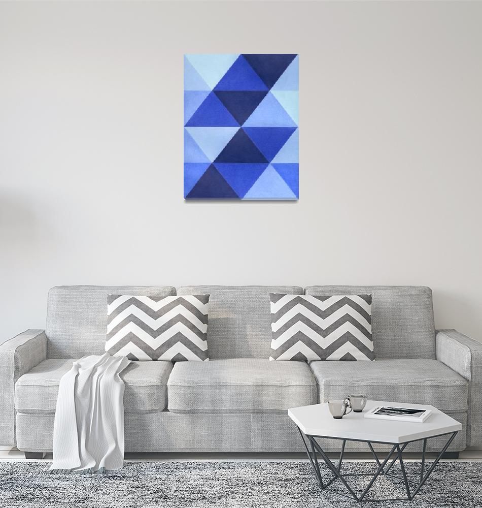"""""""Triangles B8001""""  (2011) by adam-schreck"""