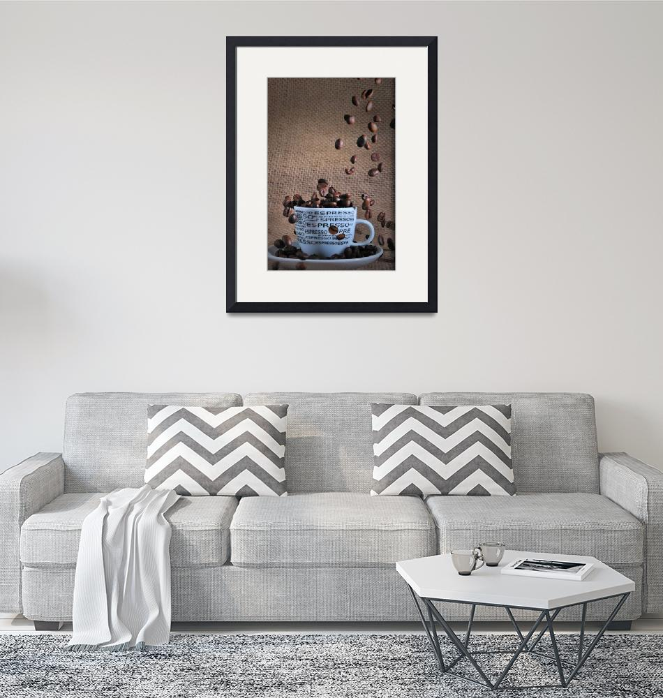 """""""Coffee beans""""  (2011) by picturegallery"""