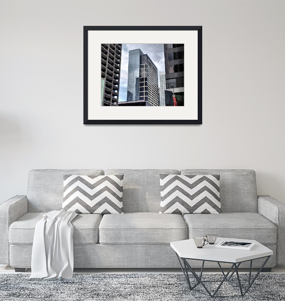 """""""Downtown Buildings""""  by KristopherEdwin"""