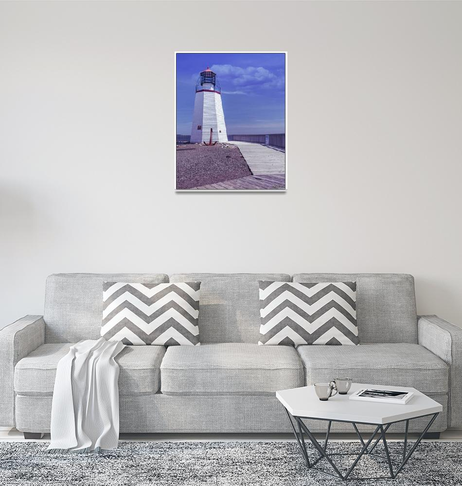 """Pendlebury Lighthouse - St Andrews, New Brunswick""  (2015) by kenmo"