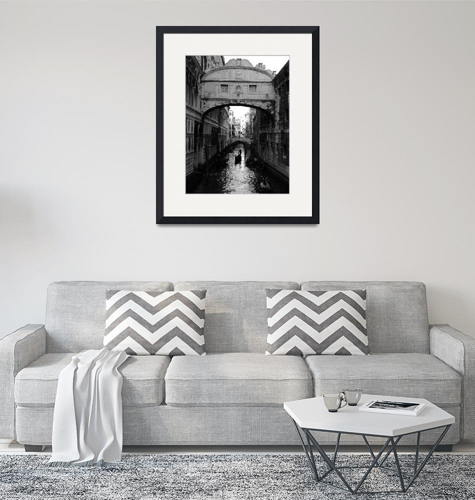 """""""The Bridge of Sighs""""  (2005) by DonnaCorless"""