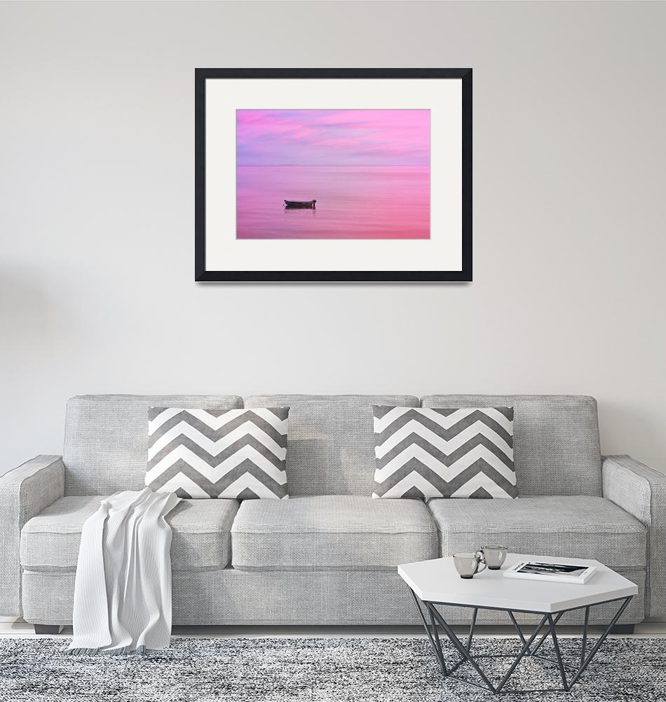 """Cape Cod : Pink Sunset""  (2019) by ChrisSeufert"
