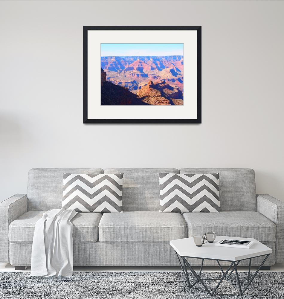 """""""Grand Canyon Mountains on the Moon""""  (2014) by FingerLakesPhotos"""
