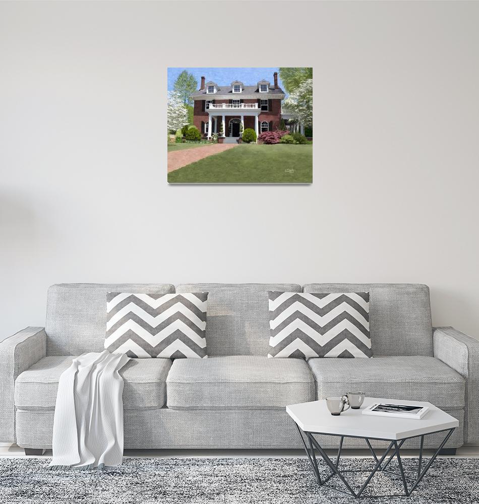 """Hardeman-Sams House in Athens, Georgia""  by Tim"