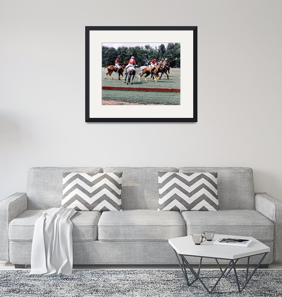 """Polo Frenzy 1""  (1993) by brucet"