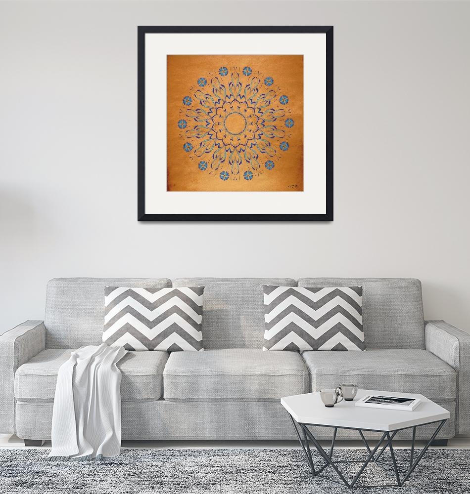 """Mandala No. 93""  (2011) by AlanBennington"