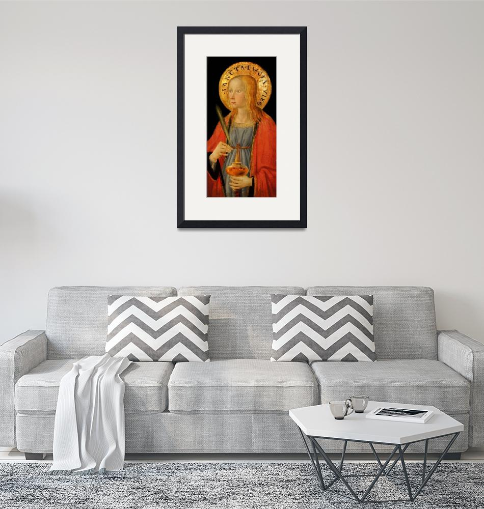 """Saint Lucy""  (2019) by dianeaddis"