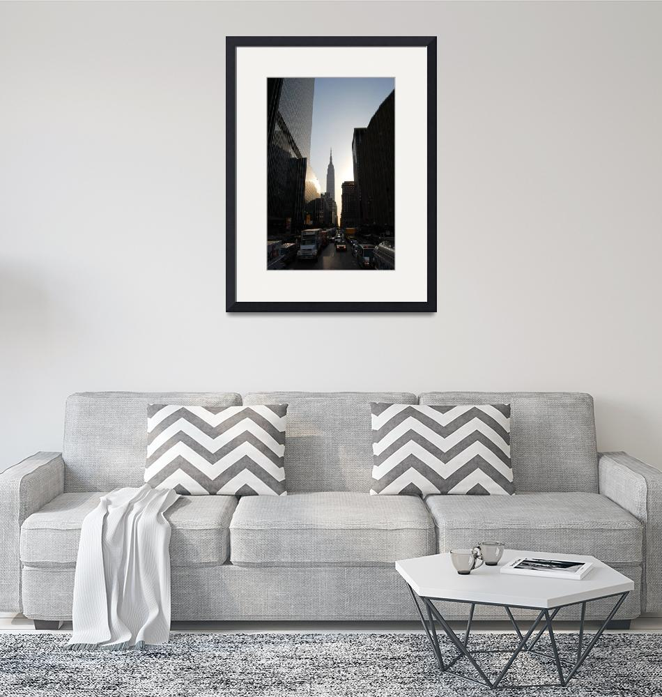 """Empire State Building""  by WhiteWash"