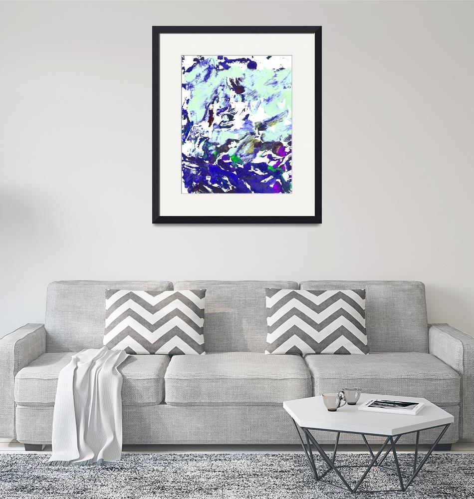 """""""Abstract Blue Universe""""  (2017) by RDRiccoboni"""