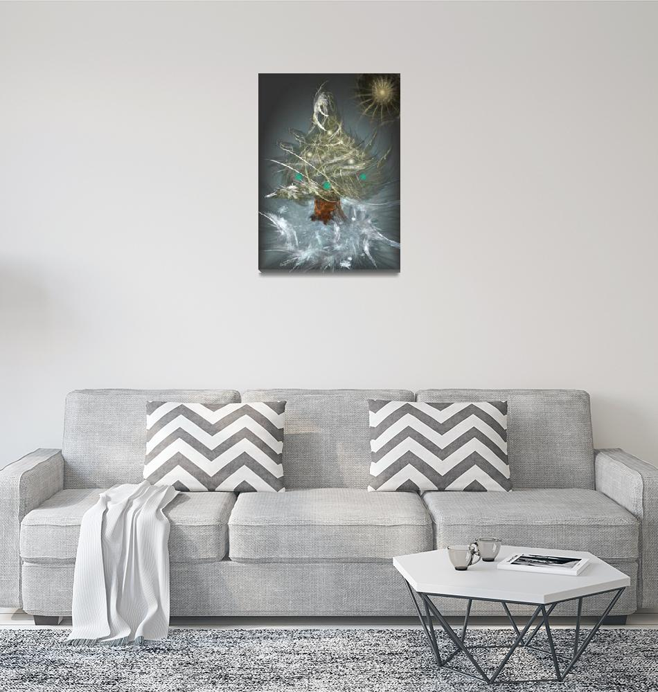 """""""The Little Christmas Tree""""  (2008) by AngelMist"""
