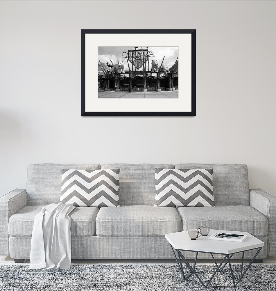 """""""Comerica Park - Detroit Tigers""""  (2002) by Ffooter"""