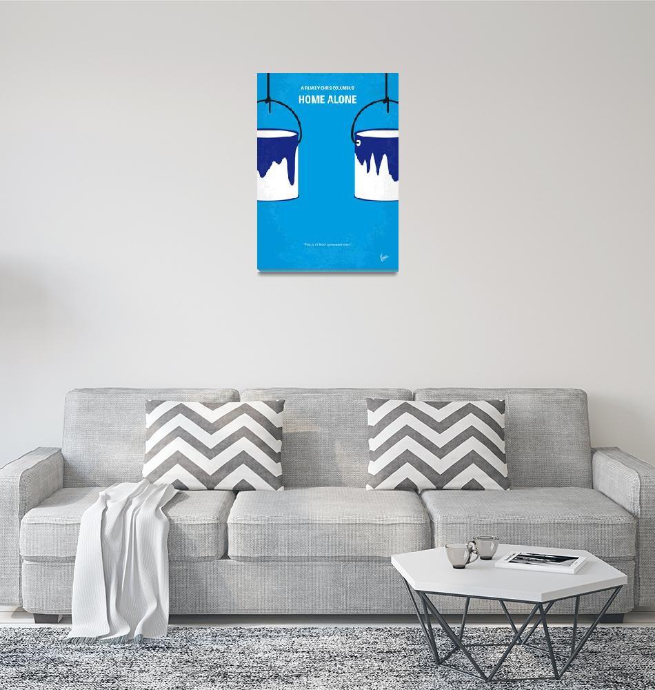 """No427 My Home alone minimal movie poster""  by Chungkong"