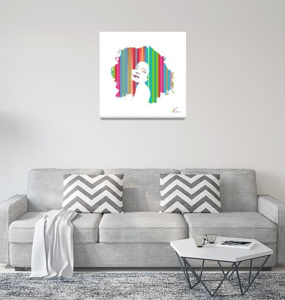 """""""Diana Ross   Pop Art""""  (2021) by wcsmack"""
