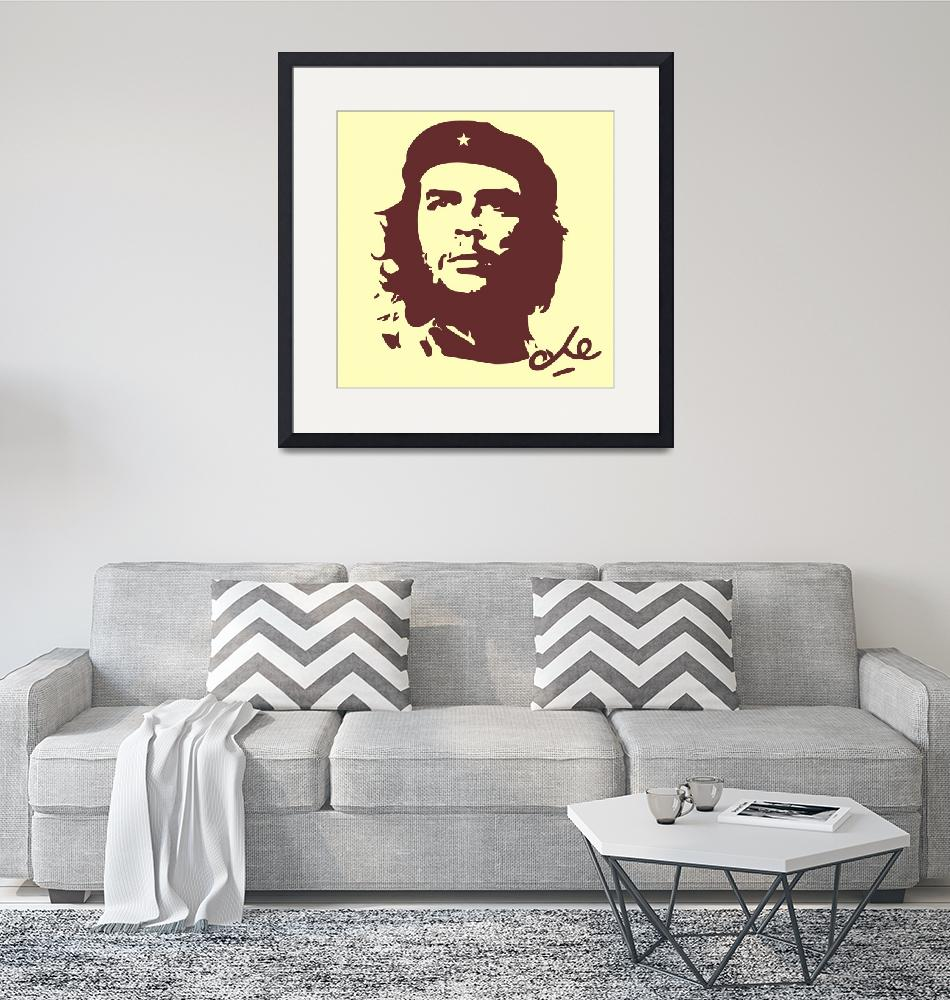 """""""Che Guevara Poster 4""""  by motionage"""
