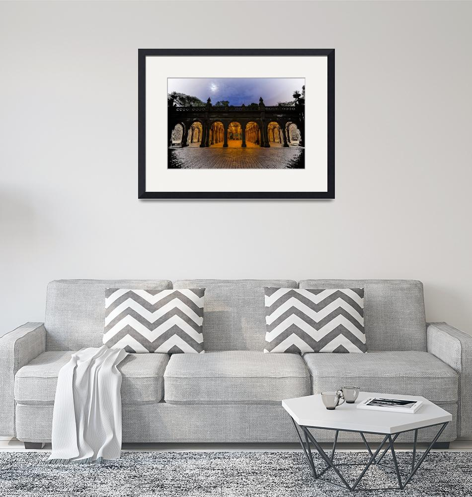 """""""Dreaming of Bethesda Terrace in Central Park""""  (2018) by New-Yorkled"""