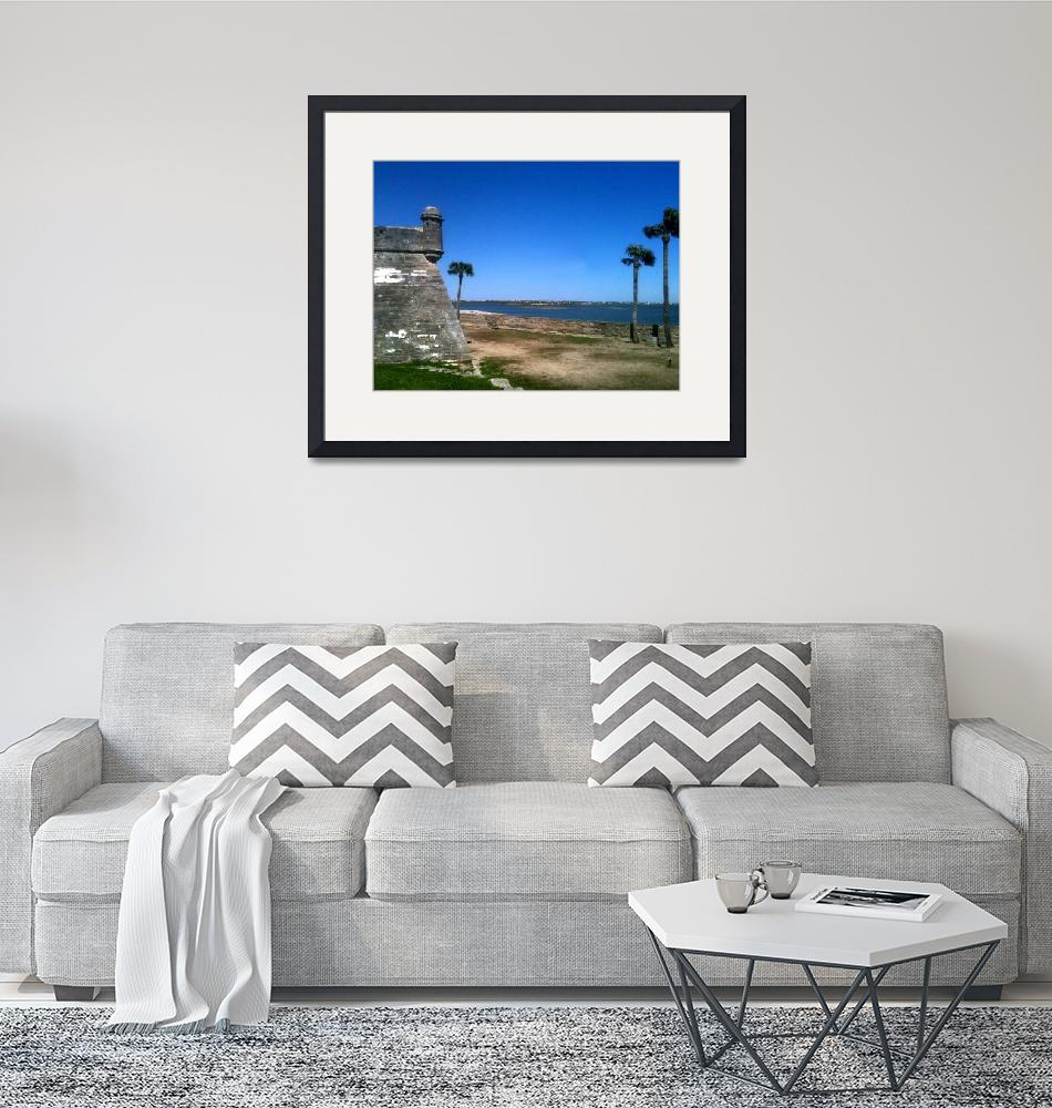 """St. Augustine 2012 The MUSEUM Zazzle Gifts - Image""  (2012) by The_MUSEUM"