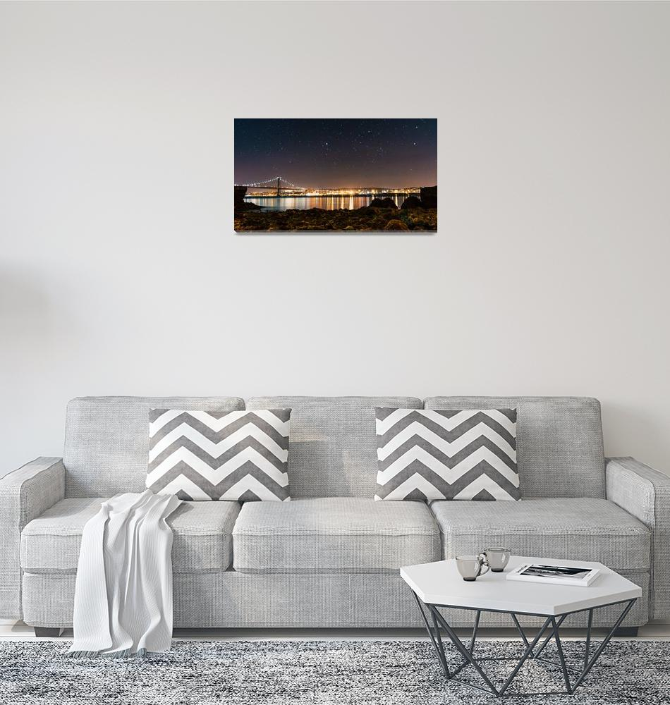 """""""View over the river""""  (2018) by Andramos"""