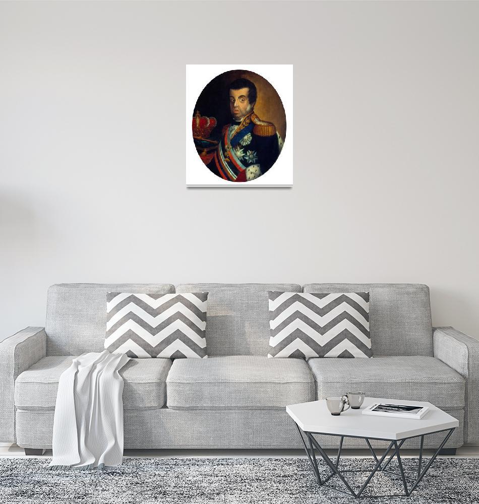 """Jean-Baptiste Debret~Retrato de D.João Vi""  by Old_master"
