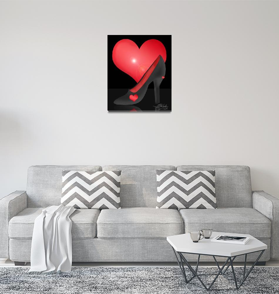 """""""I ♥ Shoes!""""  (2010) by misstandesigns"""
