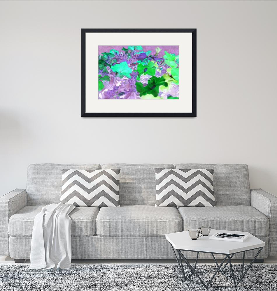 """""""Petunia Abstract"""" (2009) by crazyabouthercats"""