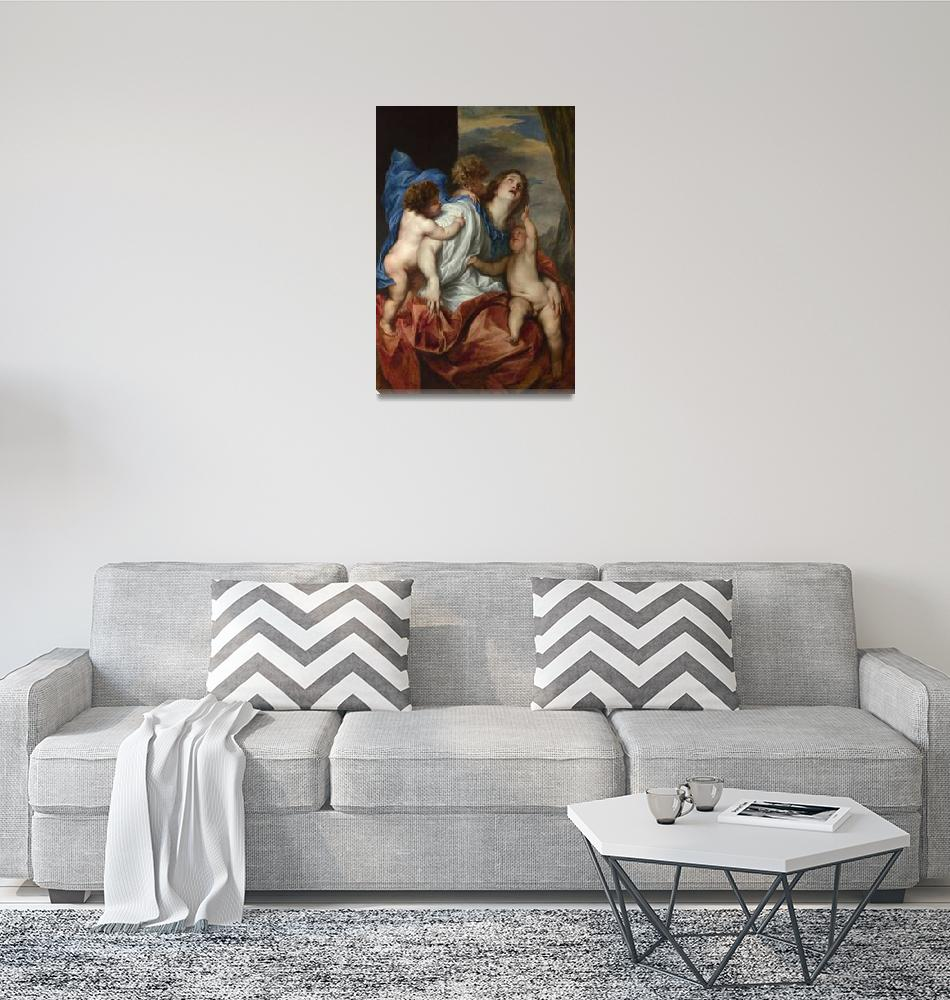 """""""Anthony van Dyck - Charity""""  by ArtistiquePrints"""