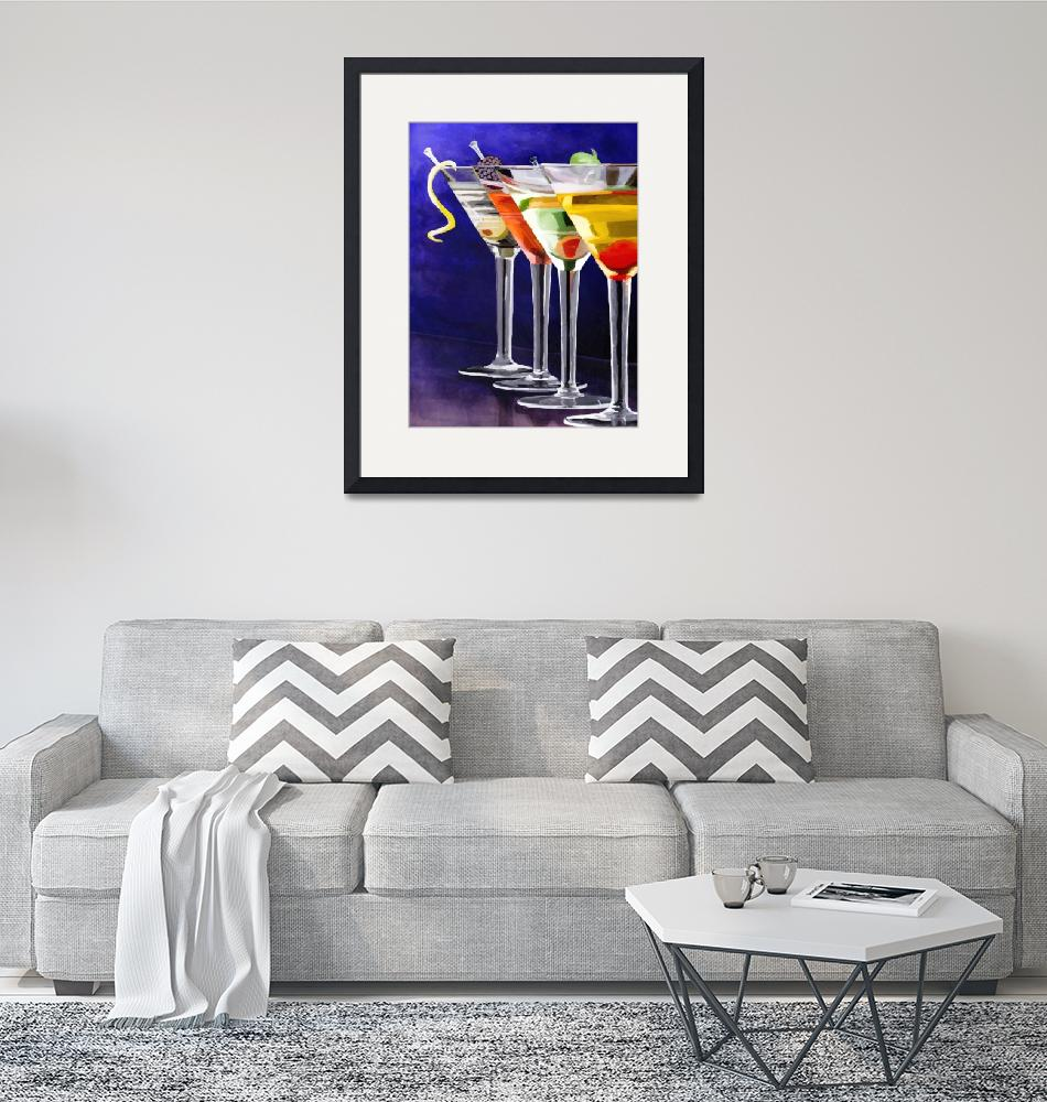 """""""Cocktail at Night""""  (2011) by night"""
