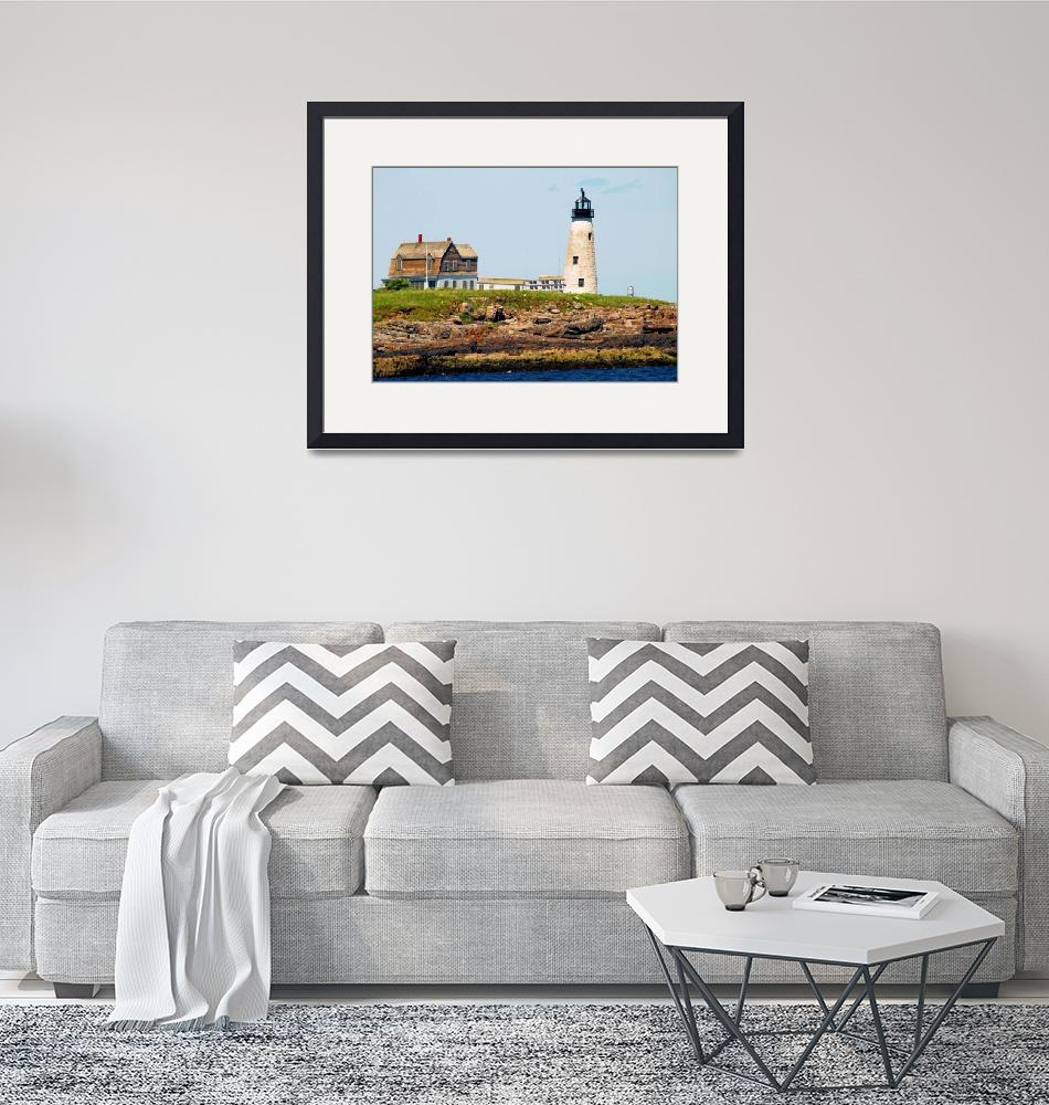 """""""Wood Island Lighthouse""""  by doncon402"""