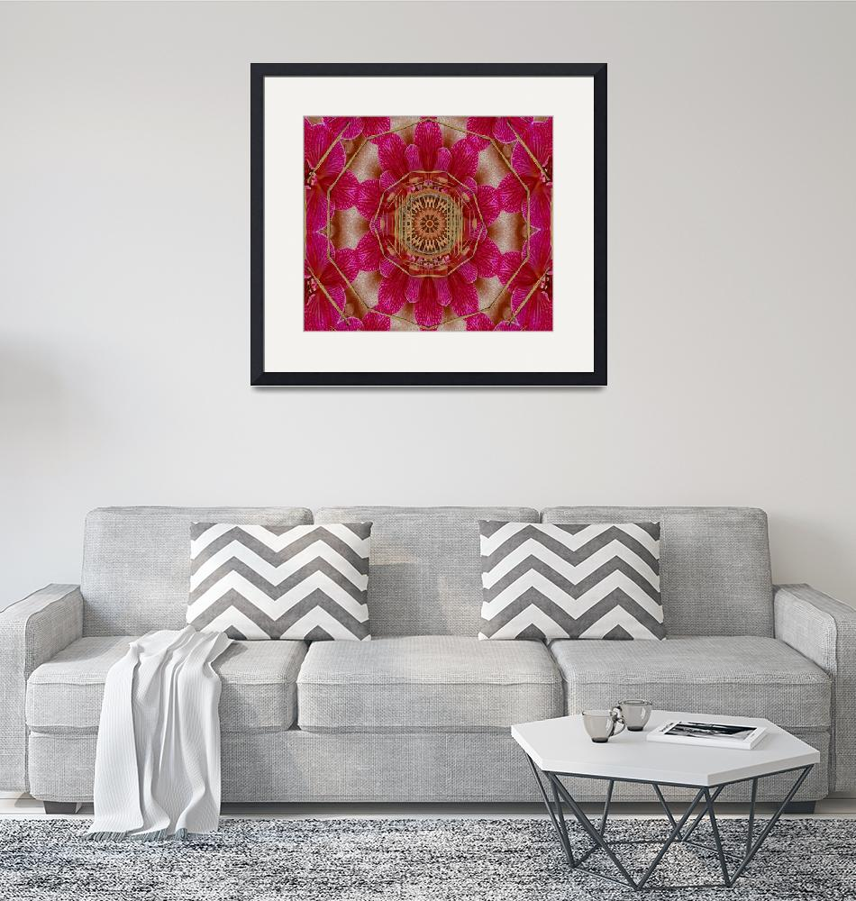 """""""The Sacred Orchid Mandala""""  (2012) by PepitaSelles"""