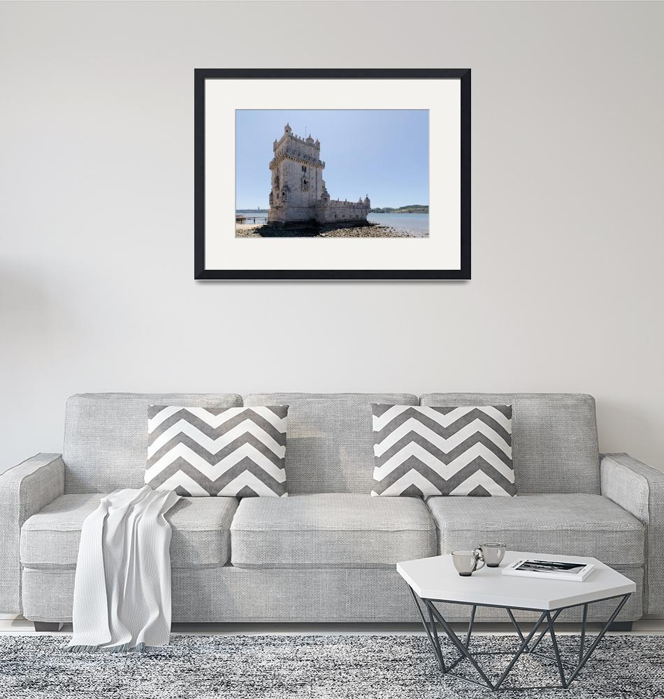 """""""Tower of Belem""""  (2012) by Malte"""